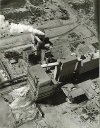 Luchtfoto van Hoechst Holland N.V. te Vlissingen-Oost.