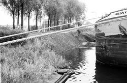 Schade aan de westelijke damwand van Zijkanaal B bij Sluiskil