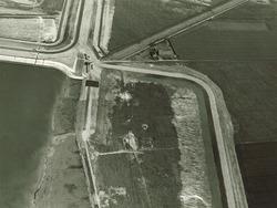Luchtfoto van de kop van de Van Cittershaven te Vlissingen-Oost.