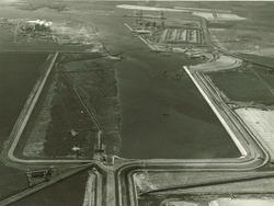 Luchtfoto van de Van Cittershaven te Vlissingen-Oost.