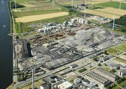 Heros Sluiskil B.V., terreinen voormalige Cokesfabriek.