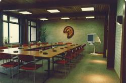 Vergaderzaal kantoor Havenschap Vlissingen.