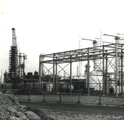 Dow Chemical in de Nieuw-Neuzenpolder.