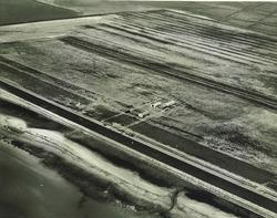 Terrein Automobielfabriek Nederland N.V. met eerste montagehal langs...