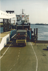 Ro-ro terminal van Dart Line aan de Buitenhaven.