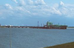 LPG tanker in de Braakmanhaven.