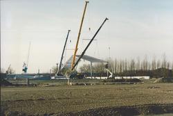 Nieuwbouw loods 40 Verbrugge Terminals aan de Zevenaarhaven