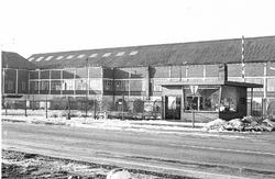 Vestiging van de glasfabriek te Sas van Gent.