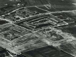 Luchtfoto nieuwbouwwijk, waarschijnlijk Vlissingen.