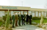 Paasdijkweg, Budelpack, bezoek minister Ruding.