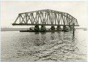 Afvoer van de brug naar de sloop in Dordrecht