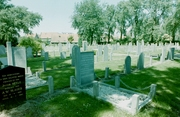 Bos, oude openbare begraafplaats.
