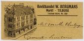 Briefhoofd Boekhandel W. Bergmans Markt