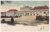 Oud station aan de Spoorlaan. Bij de aansluiting van Tilburg op het telefoonnet in 1890 kreeg het 'Staatsspoor' telefoonnummer 1.