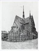 De Noordhoekse kerk waarin Marietje Kessels werd vermoord.