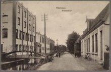 Westzaan J J Allanstraat rechts Krabbelbuurt Chocoladefabriek Grootes De Cacao- …