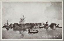 Koog aan de Zaan Museumlaan In het molenmuseum is het Molenpanorama dat geschild…