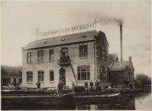 Koog aan de Zaan Jan Bestevaerstraat Cacaofabriek van J A Francken gezien vanaf …