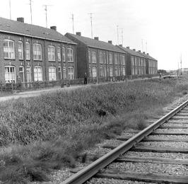Huizen achter de Cokesfabriek Sluiskil