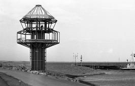bouw nieuwe verkeerstoren op de havendam