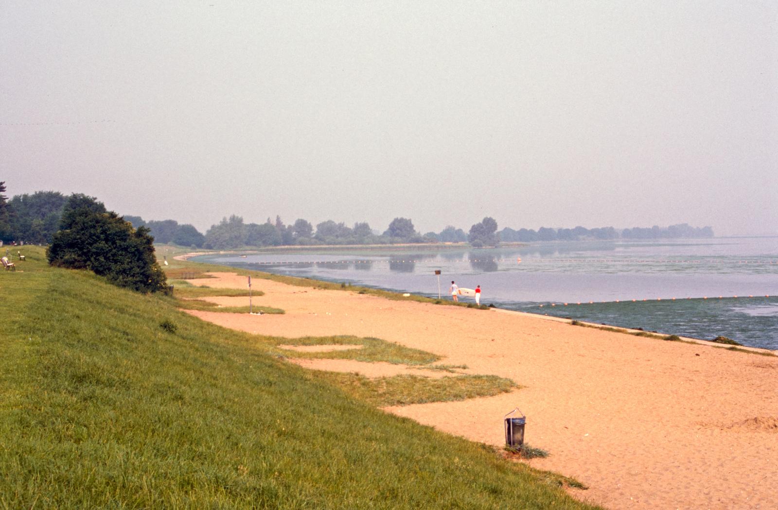 Het strand van Muiderberg