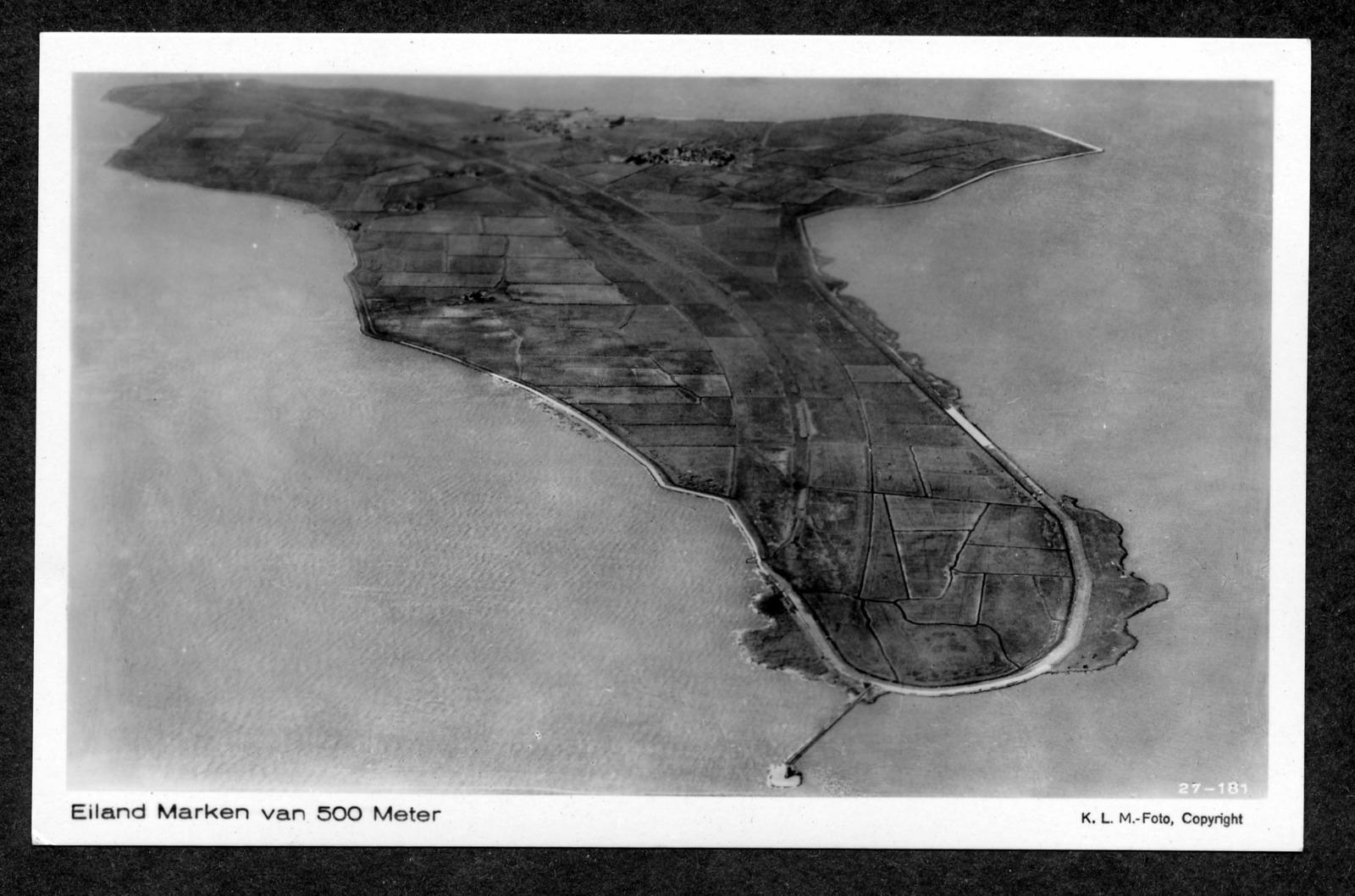 Eiland Marken van 500 Meter. Identificatie F021389, Collectie Zuiderzeemuseum