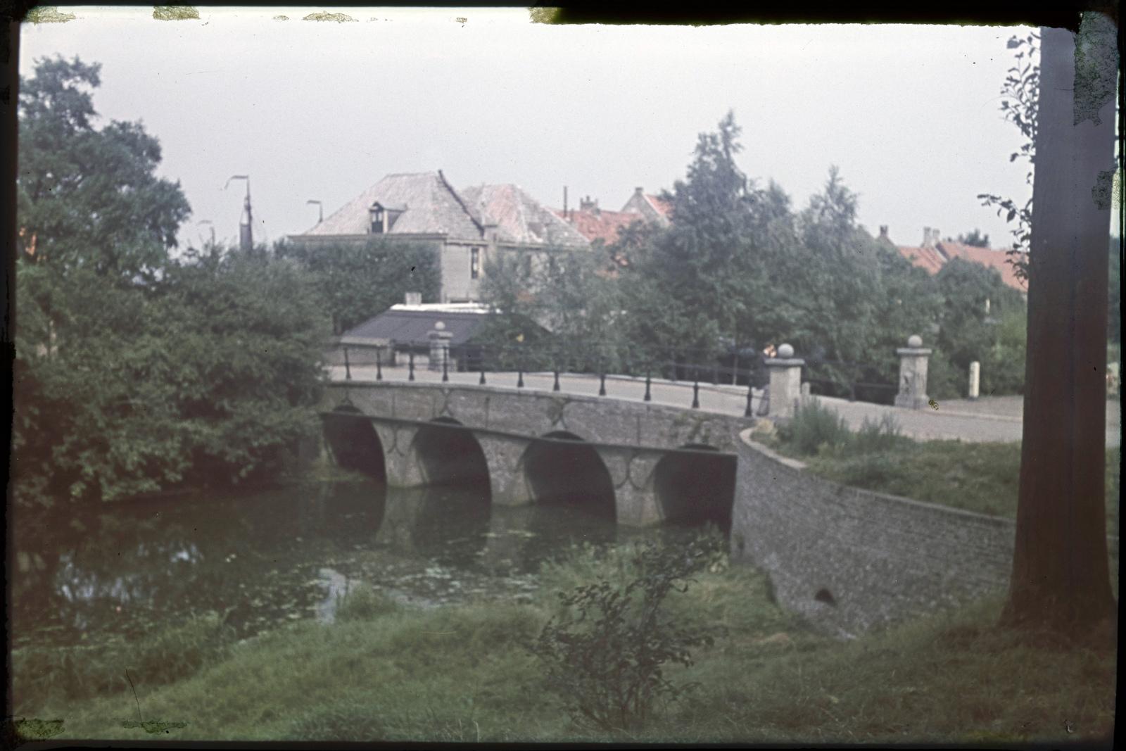 De brug over de vestinggracht