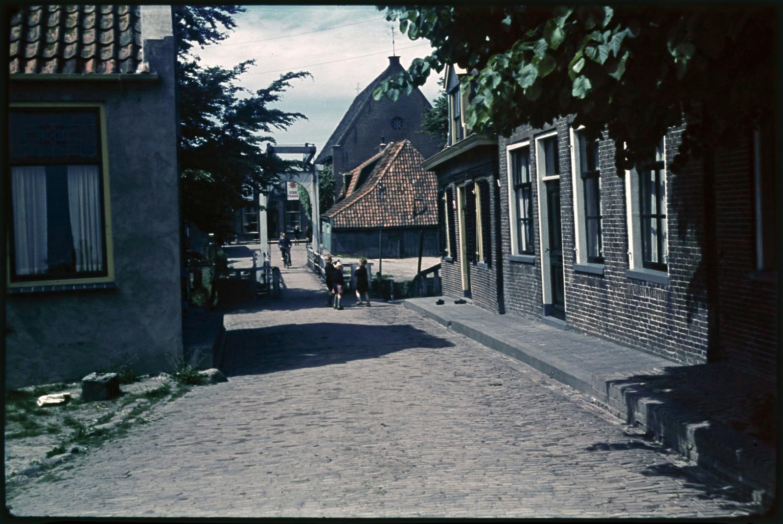 Straatbeeld in Blokzijl
