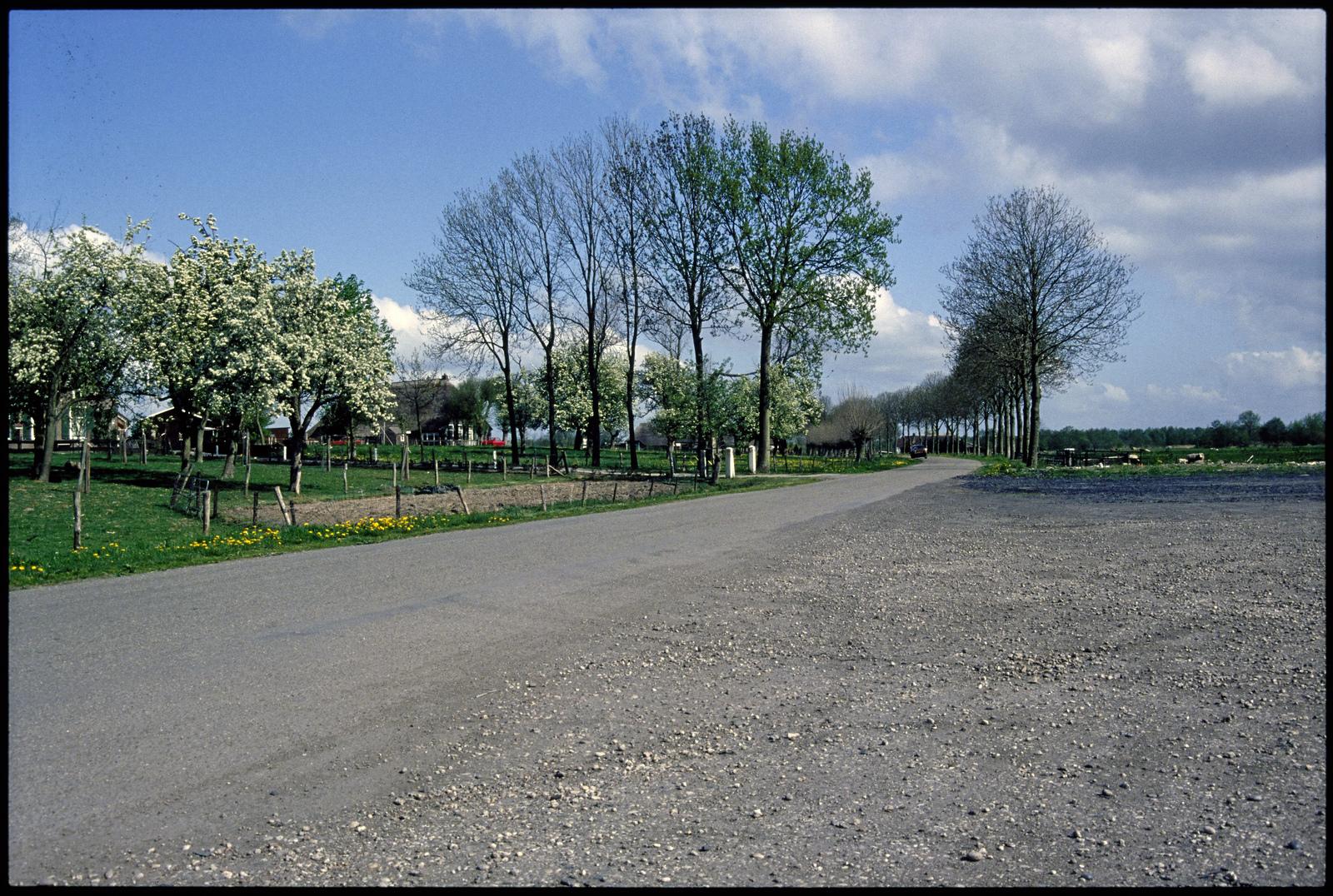 Het buurtschap Barsbeek bij Vollenhove