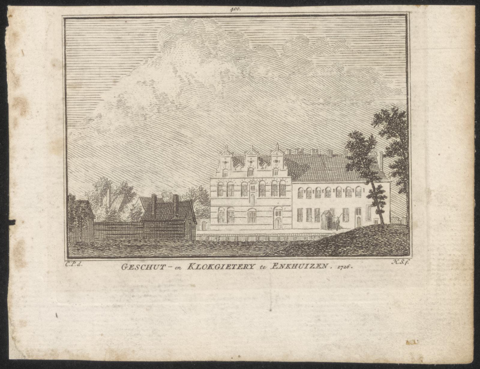 Geschut- en klokgietery te Enkhuizen 1726.