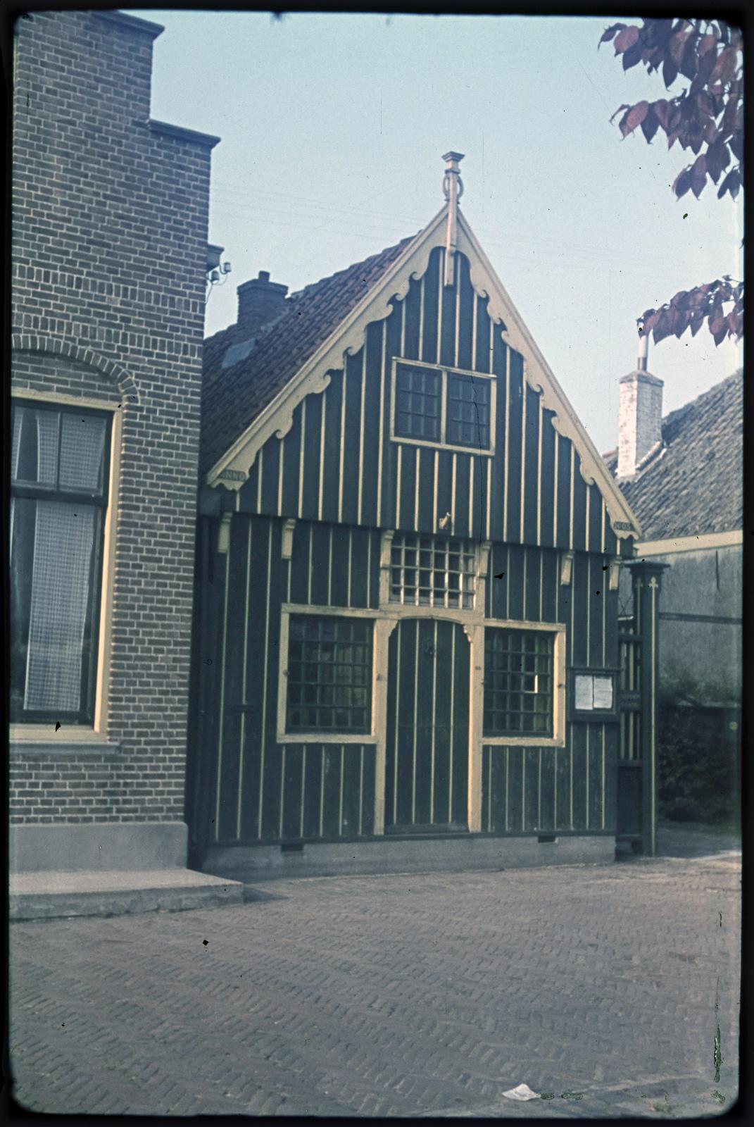 Houten woonhuis in Edam
