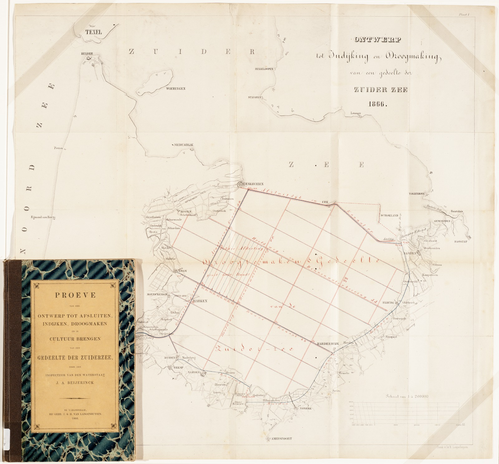 Een ontwerp tot afsluiten, indijken, droogmaken en in cultuur brengen van een gedeelte van de Zuiderzee, brochure
