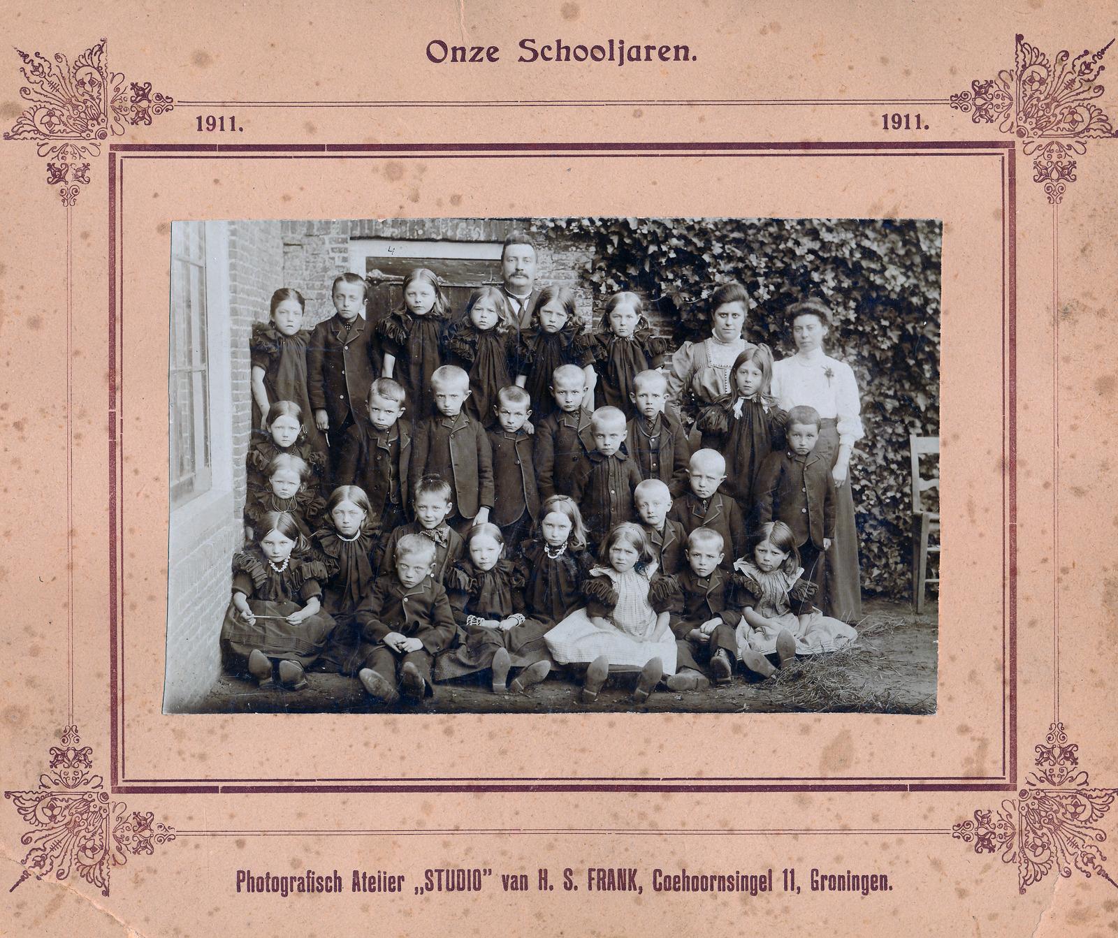 Schoolfoto Huizen
