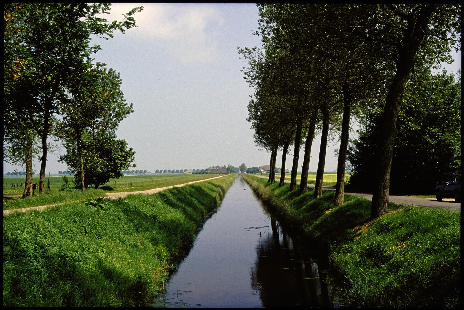 De Barsingerweg in de Wieringerwaard bij Kolhorn