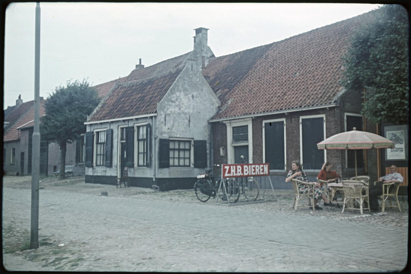 Huizen bij de haven