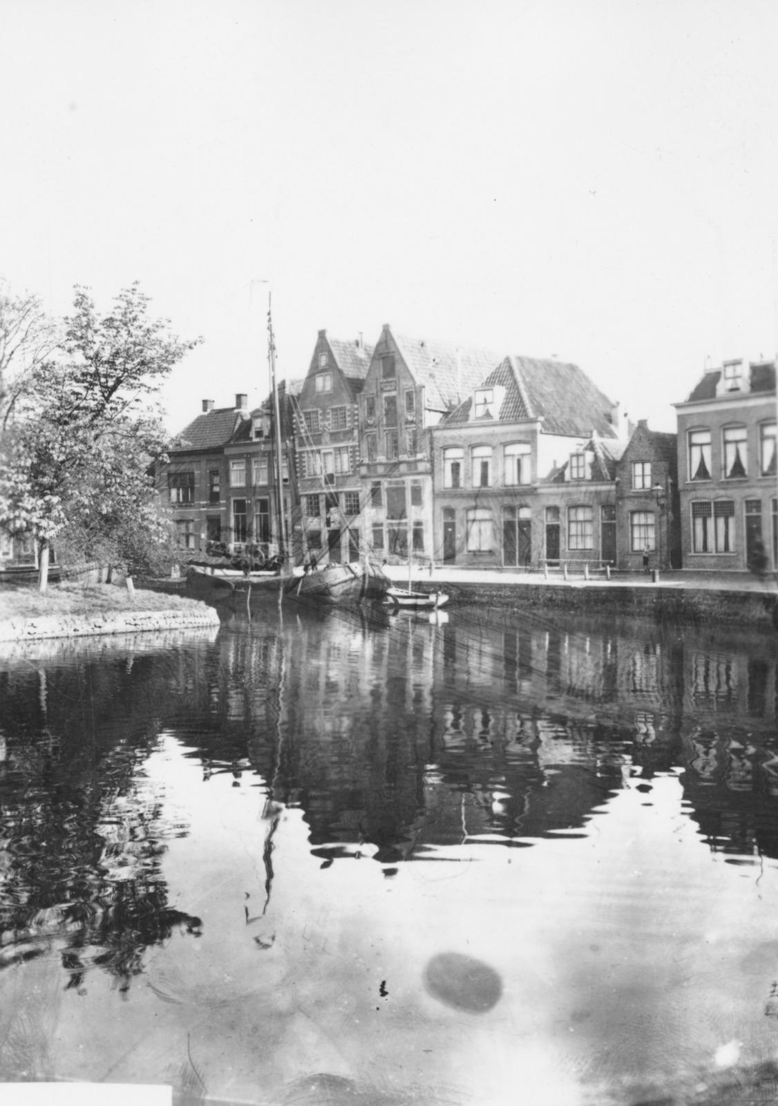 Gezicht op de Nieuwendam te Hoorn