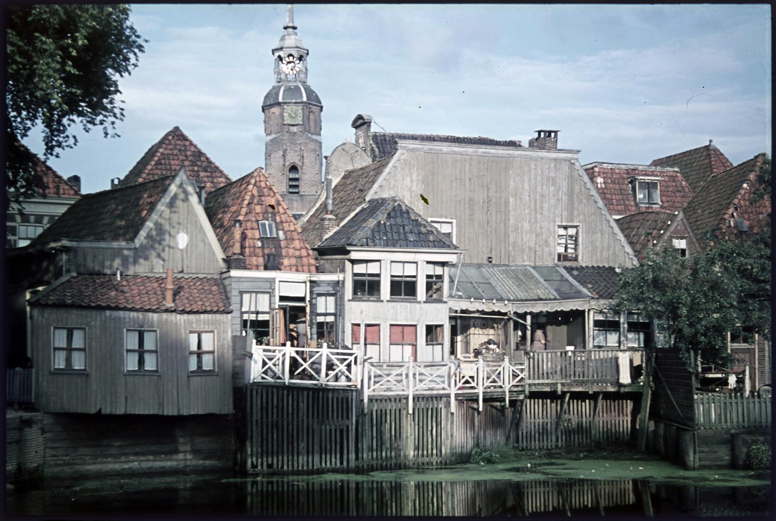 Huizen aan de Zeedijk in Blokzijl
