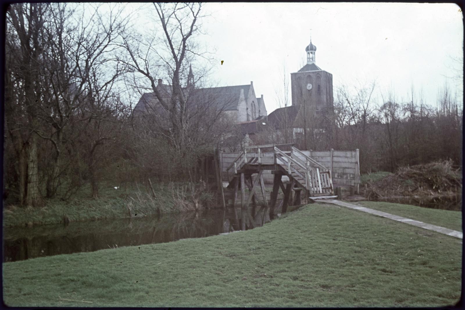 Gertrudiskerk en toren