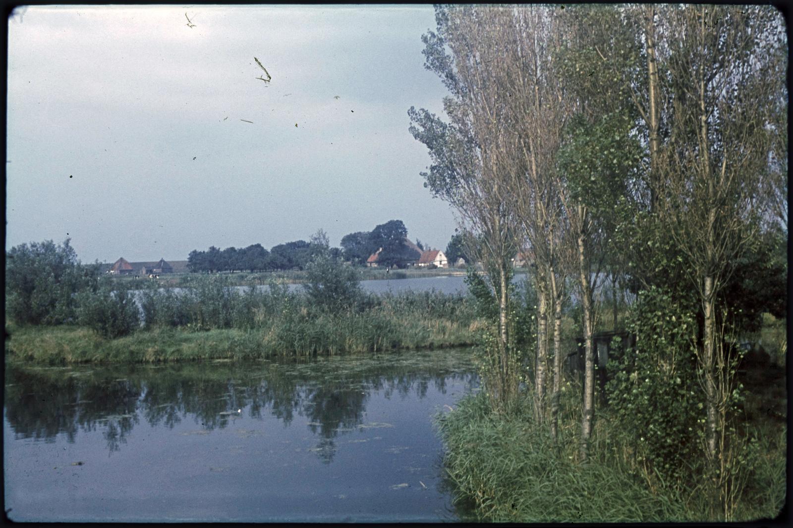 In polder het Grootslag ten Andijk.
