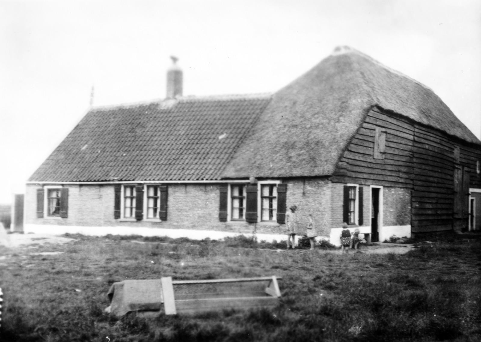 Boerenhuis op Wieringen.
