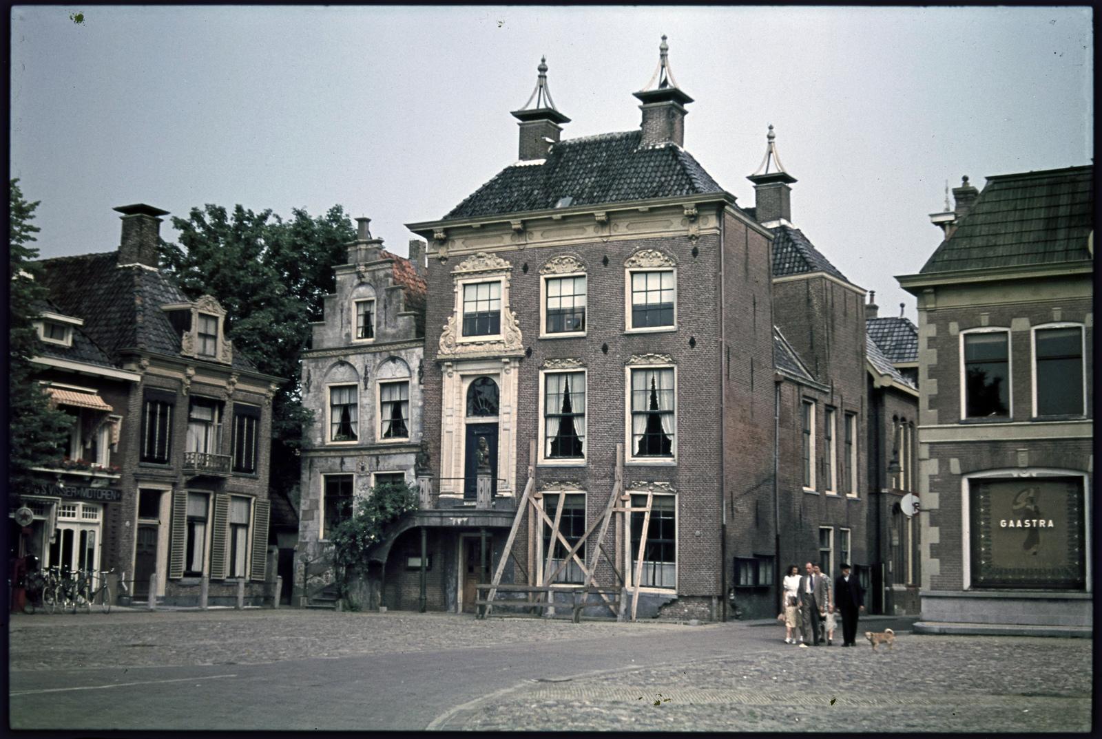 Het stadhuis van Workum