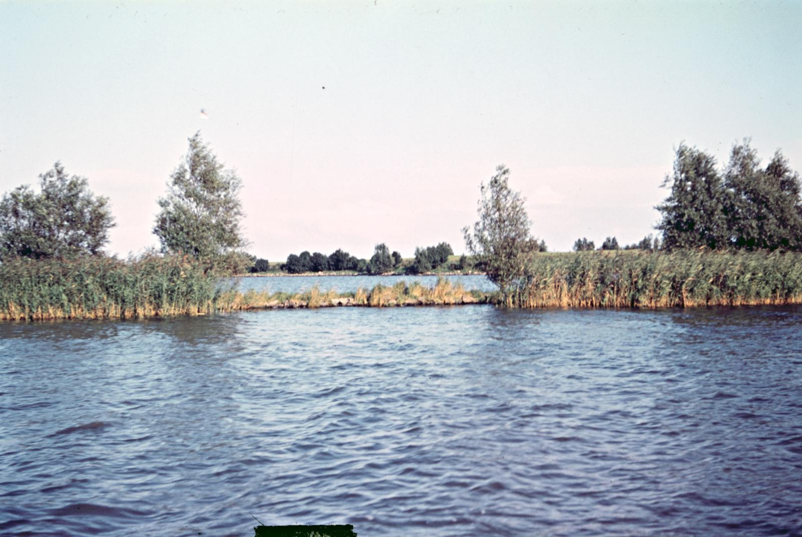 Rivierenlandschap bij Muiden