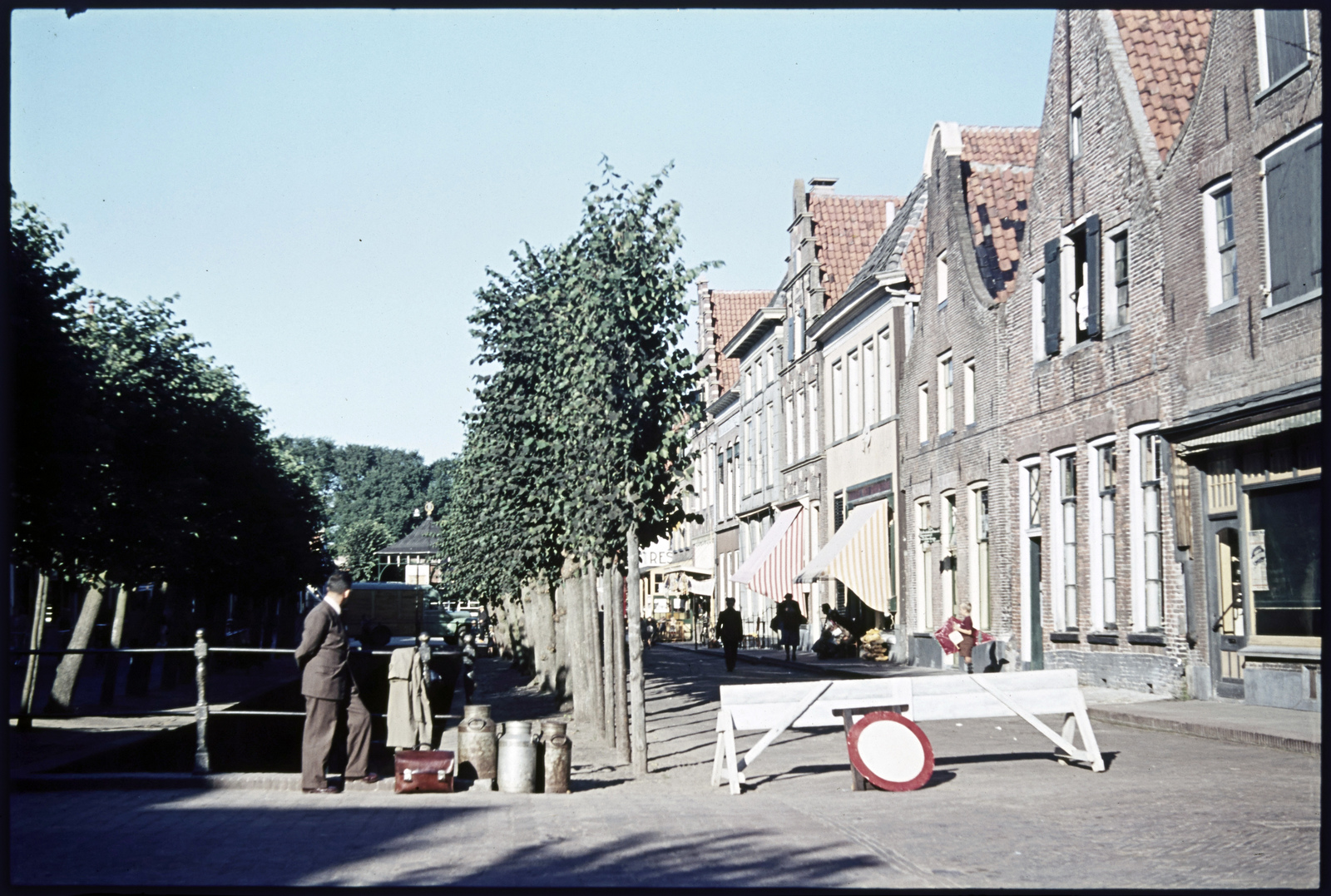 Straatbeeld van Elburg
