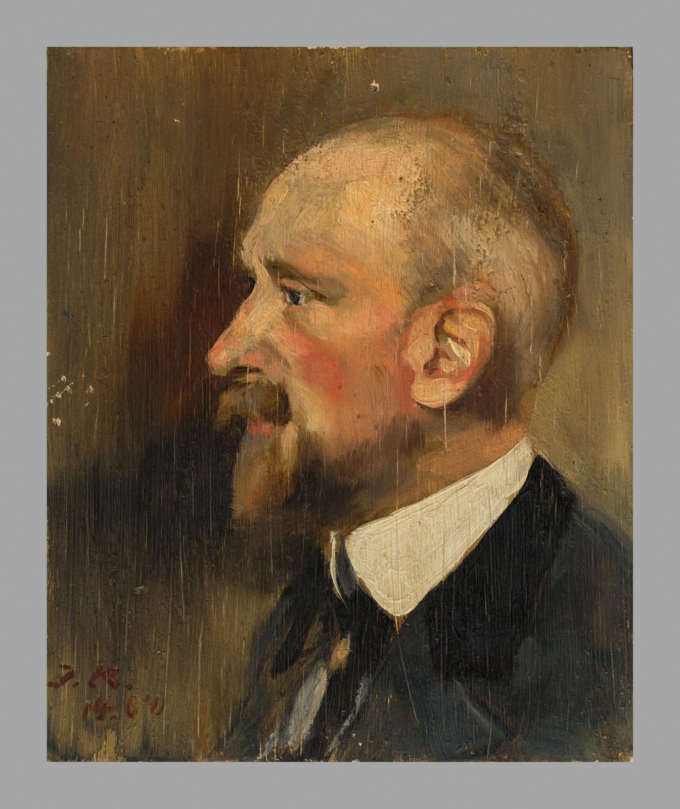 De schilder D. de Vries Lam