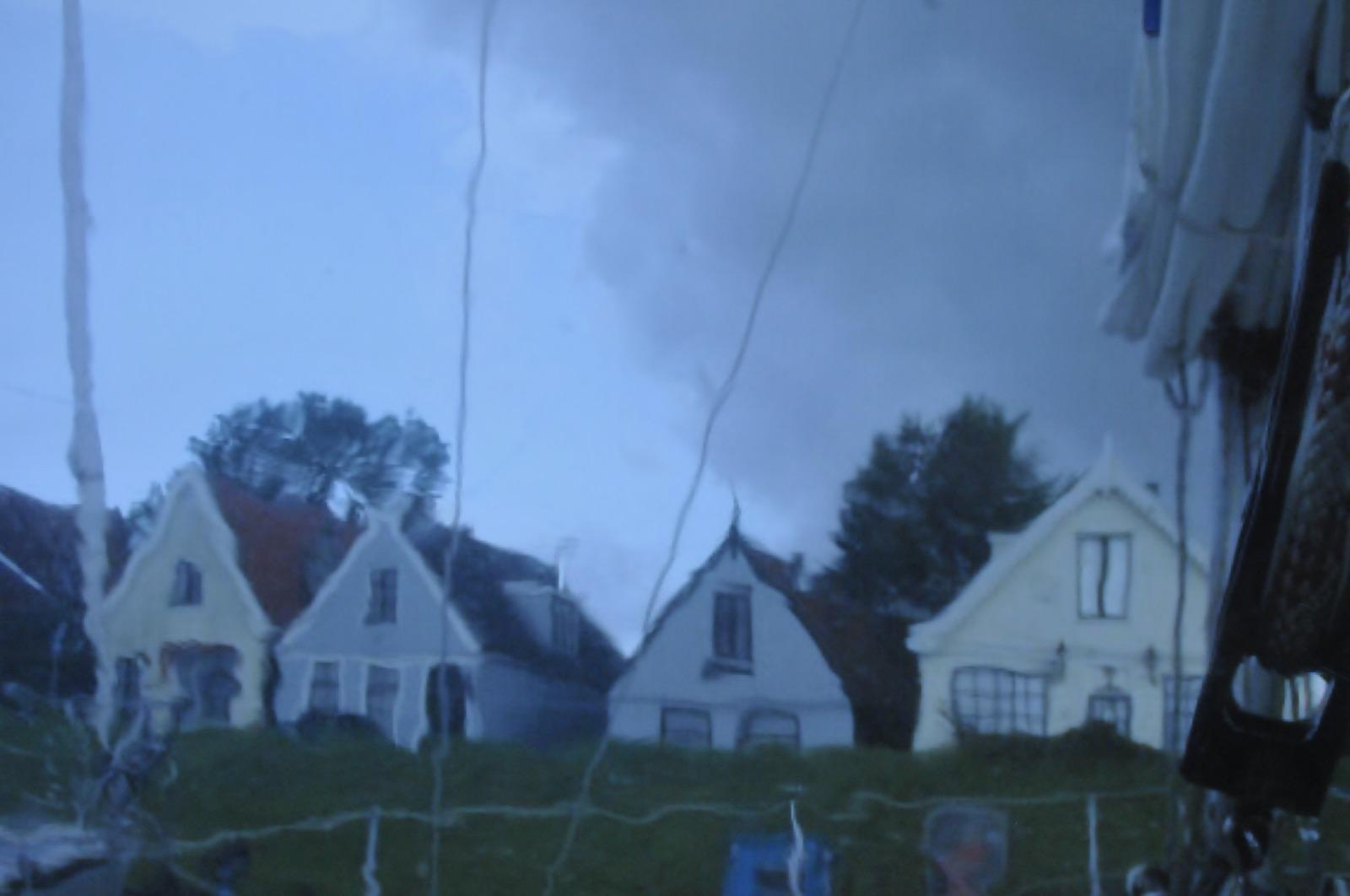 Onweersbui boven Durgerdam