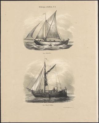 Een Schokker, Een Beurtschip