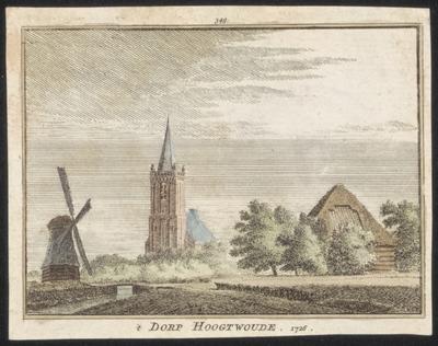 't Dorp Hoogtwoude 1726