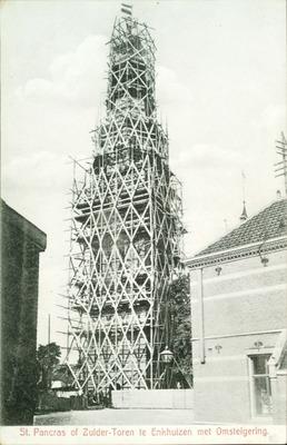 St. Pancras of Zuider-Toren te Enkhuizen met Omsteigering.