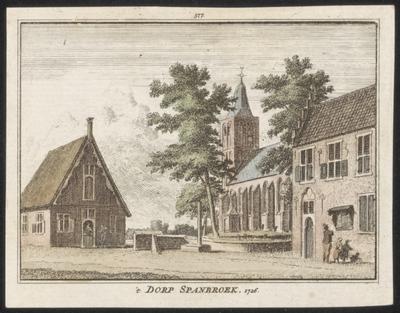 't Dorp Spanbroek. 1726.