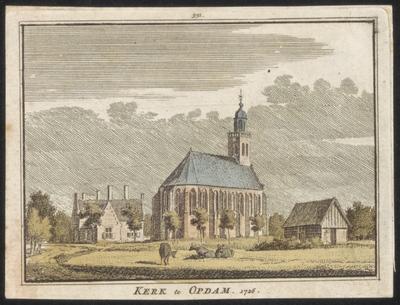 Kerk te Opdam 1726